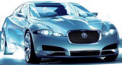 Présentation du concept-car qui a fait souffler un vent nouveau sur une marque vieillissante: le concept-car Jaguar C-XF, qui a annoncé la Jaguar XF de série.