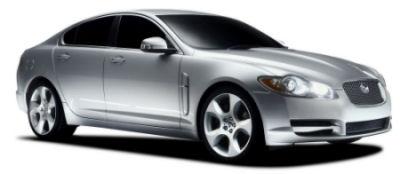 Présentation de la Jaguar XF, symbole de la renaissance de Jaguar..